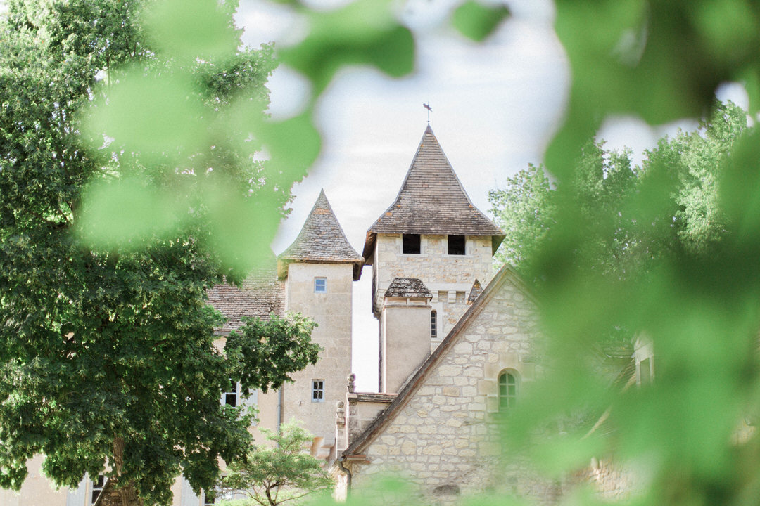 towers-of-french-wedding-chateau-ladausse