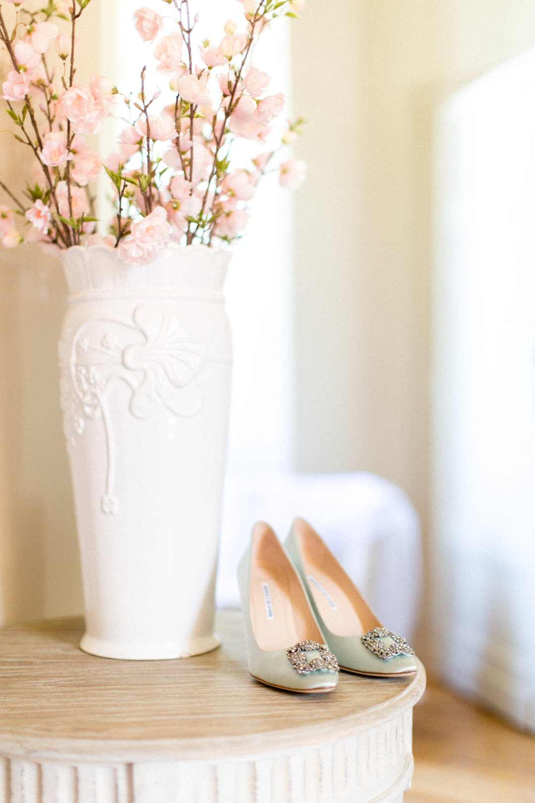 French-chateau-interior-wedding-shoes